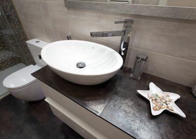 lavabo ceramica sobre encimera