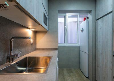 optimización espacio de la cocina