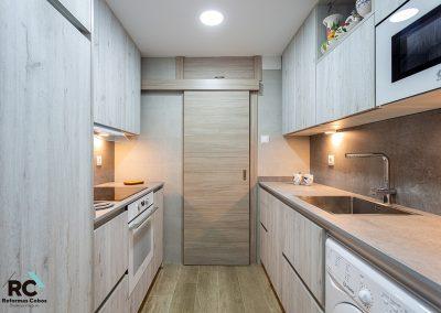 puerta corredera de cocina