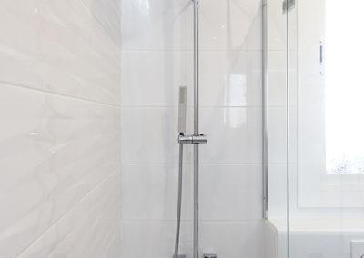 alcachofa de ducha cuadrada